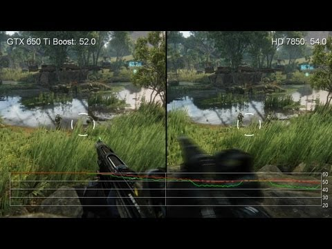 GeForce GTX 650 Ti Boost 2GB vs. Radeon HD 7850 1GB Frame-Rate Tests