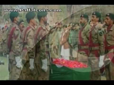 Namaz-e-janaza Of Brigadier Syed Hussain Abbas Shaheed - A Hero To His Last Breath video