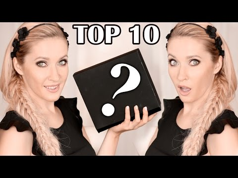My top 10 beauty products ❤ Hair + Makeup + Skin + Nails favorites