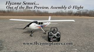 Flyzone Sensei Out of the Box Preview, Assembly and Flight