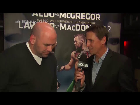 Dana White Talks Up UFC 189 and Gives an Update on MMA in New York