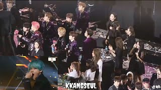 190115 RED VELVET (레드벨벳), NCT Reaction to BTS – 'IDOL' Encore Stage at 28th Seoul Music Awards 2019