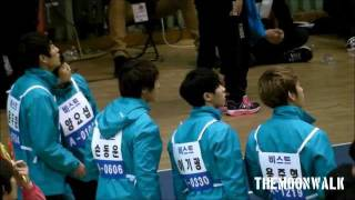 120108 Idol Star Sports Championship - BEAST YoSeob