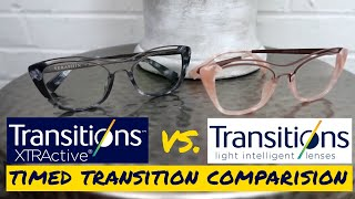 Comparing Transitions® Signature® vs. Transitions® XTRActive® Lenses