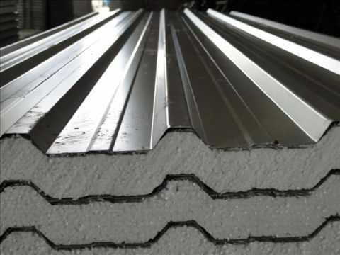 Telhas de zinco usadas