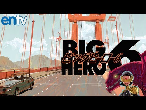 Disney and Marvel's Big Hero 6 Movie Inside Look