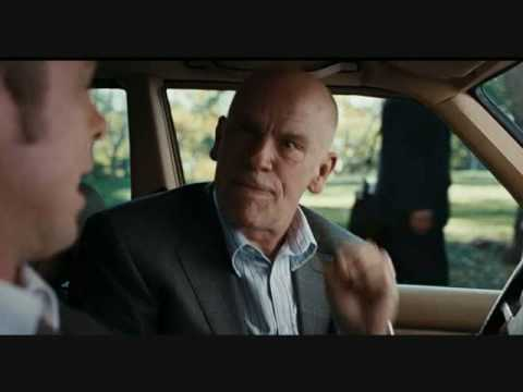 "John Malkovich says the ""F"" word"