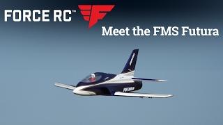 Force RC - FMS Futura 80mm PNP Jet