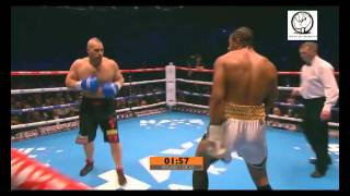 David Haye vs Mark de Mori  Boks maçı 16 ocak 2016 HD