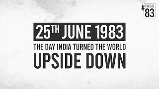 The Day India Turned The World Upside Down | Ranveer Singh | Kabir Khan | April 10, 2020