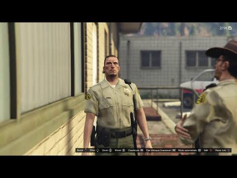 EASTER EGG GTA V THE WALKING DEAD GRIMES (SECRETO) - Makiman