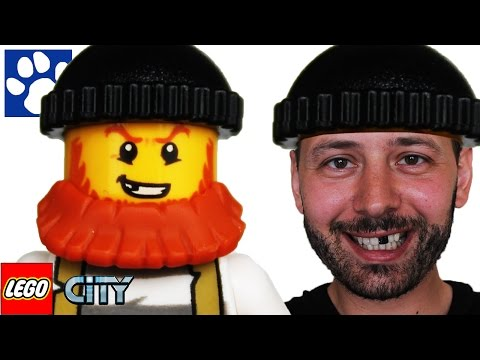 ЛЕГО СИТИ | Секретное убежище воришек 60068 | ЛЕГО мультик | Unboxing LEGO City Crooks' Hideout