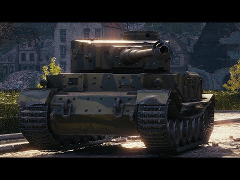 World of Tanks Tiger (P) - 7 Kills 5,2K Damage