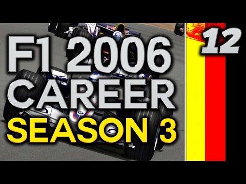F1 2006 Career Mode S3 Part 12: HOCKENHEIM