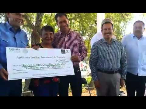 Entrega simbólica de apoyos del Programa de Agricultura Familiar, Periurbana y de Traspatio