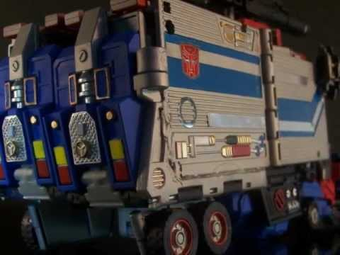 Transformers Custom PowerMaster Optimus Prime