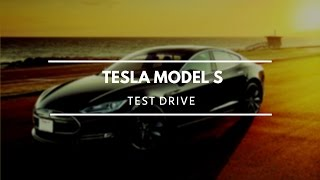 Test driving Tesla Model S Autopilot Self-Driving mode!