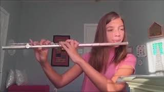 This girl can play despacito with flute