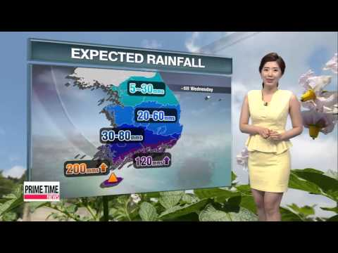 Monsoon front looms with rain in forecast   내일 장맛비 점차 확대