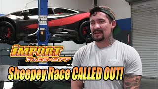 Sheepey Race CALLED OUT, race cheater caught, & insane grudge races at Import Face-Off FULL EPISODE!