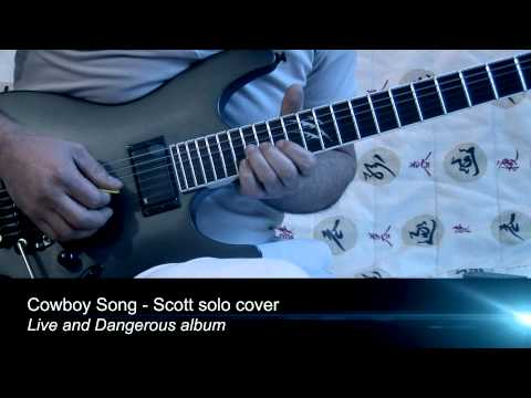 Thin Lizzy - Cowboy song solo cover - Scott Gorham
