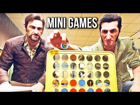 A Way Out Mini Games - Wheelchair Balance & Connect Four