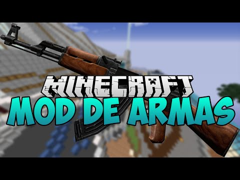 Mod Review ARMAS para minecraft 1.7.10 [Forge] !! - Call Of Duty