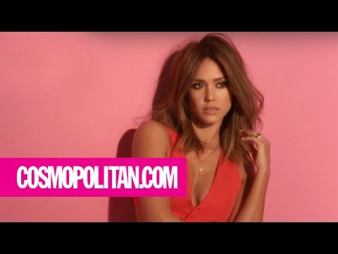 Jessica Alba | Behind the Scenes | Cosmopolitan