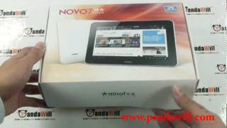 Ainol Novo 7 Aurora Android 4.0 HITACHI IPS Screen A10 1GB DDR3 CPU 2.0 MP Camera HDMI Tablet Review