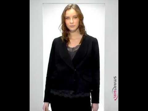 SmartGirl Look – Nümph blazer, Day B. M. top, Just Female nederdel og Friis & Company sandal