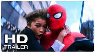 Download Lagu SPIDER MAN FAR FROM HOME Spider Man & MJ Swinging Scene Trailer (NEW 2019) Superhero Movie HD Gratis mp3 pedia