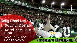 SUARA BONEK..! Aksi Zoro pimpin Chant di Tribun GN | Persebaya vs Bhayangkara FC