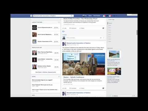 The Hashtag - How to Post to Facebook