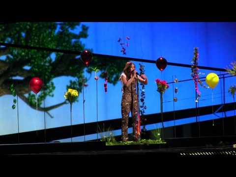 ESCKAZ in Stockholm: Francesca Michielin (Italy) - No Degree Of Separation (dress-rehearsal)