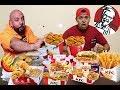 تحدي اكل منيو كامل دجاج كنتاكي ضد s7s والعقاب كسر درع المليون!!