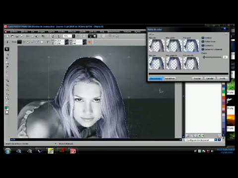 corel photo paint x4 Anna kournikova