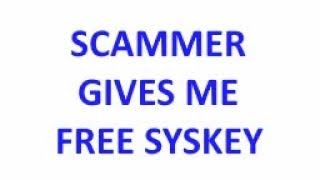 Scammer says he will disconnect my entire network