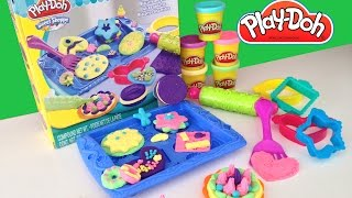 Play-Doh Cookie Creations Sweet Shoppe Biscoitos Divertidos Playset ★ ToysBR