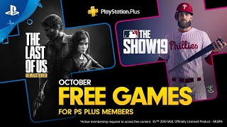 PlayStation Plus - Free Games Lineup October 2019 | PS4