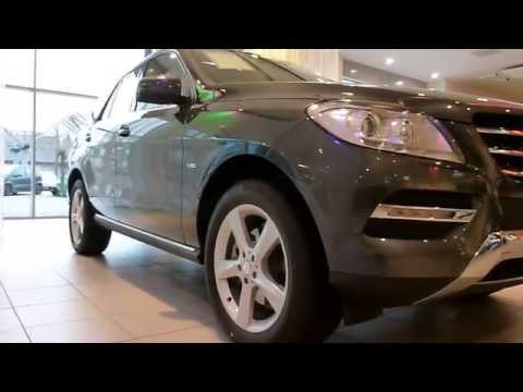 Mercedes ML 250 Bluetec Exterior & Interior 2012 * see also Playlist