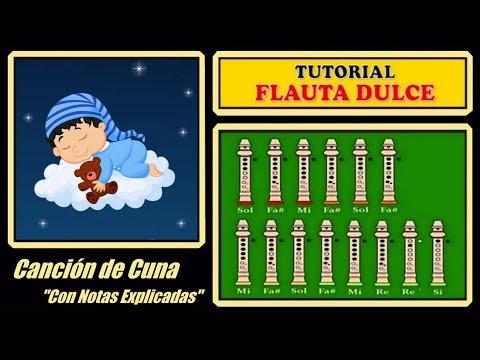 Canción de Cuna en Flauta
