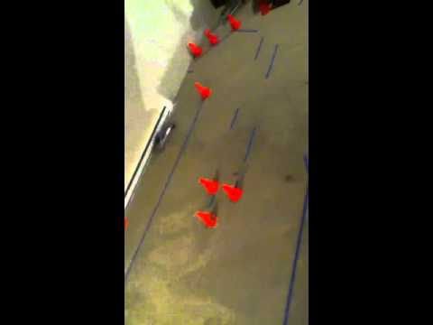 Rc drift Amateur basement track