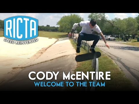 Cody McEntire - Welcome to Ricta Wheels