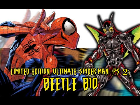 Ultimate Spider-Man (Limited Edition) BEETLE character bio