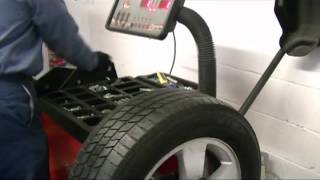 HOW A TIRE IS PROPERLY MOUNTED AND BALANCED