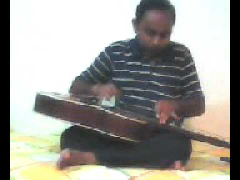 Shaam-E-Gham Ki Kasam on Hawaiin Guitar by Ritesh Krishna Narain...