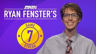 Ryan's 7-Game Streak | JEOPARDY!