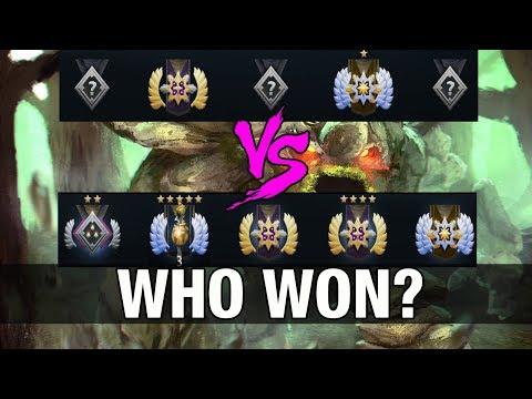 WHO WON? SmAsH DIVINE 5 TOP 2 America Plays a Pub Match With Tiny - Dota 2