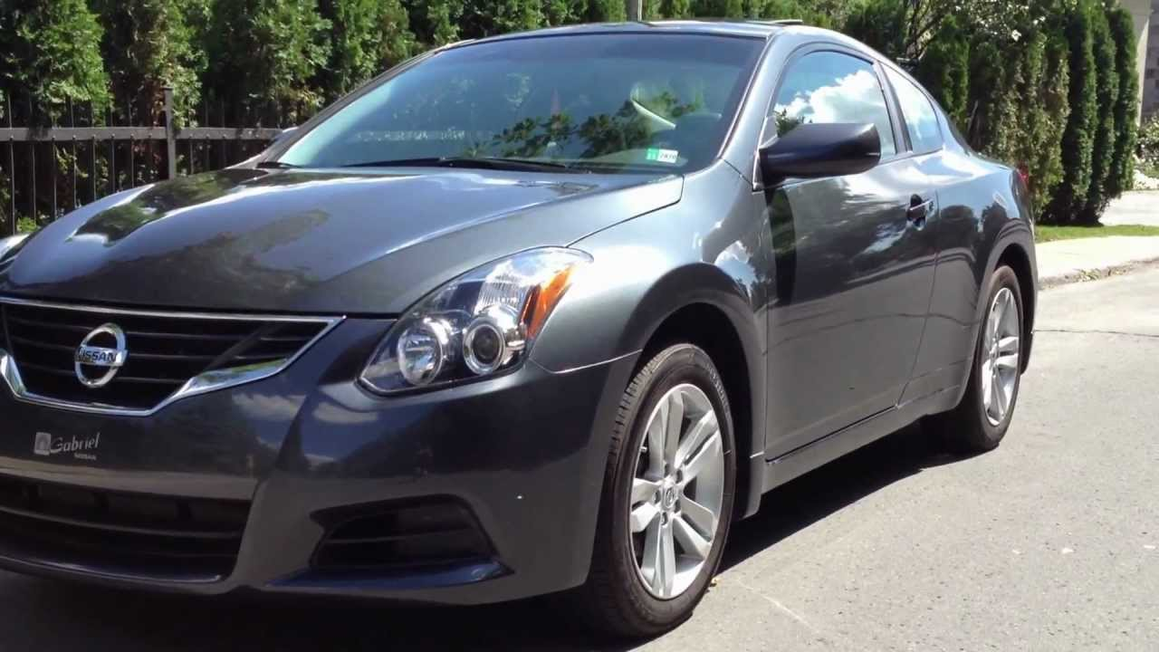 2011 Nissan Altima Coupe 2 5 S Youtube
