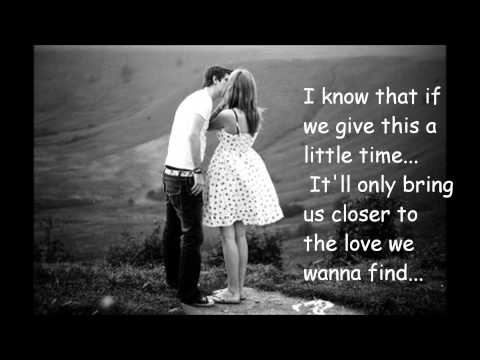 Just A Kiss With Lyrics video